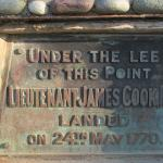 Lieutenant James Cook Monument Cairn