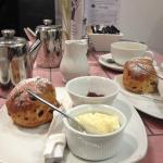 Two cream tea's! Absolutely delicious!