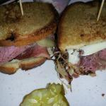Home Made Corn Beef Ruben
