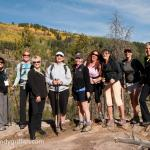 Group hiking trip from the Vail Racquet Club