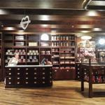 The Max Brenner store within the shop