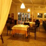 restaurante jardin  MAS DEL PLA
