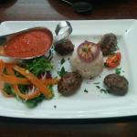 Grilled Kofte from the lunch menu