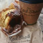 First visit�� great coffee and salted caramel cronut yummm will be back