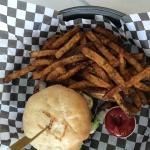 Brie Mushroom Melt Burger