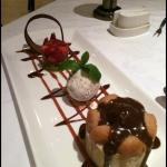 Ferrero Roche dessert