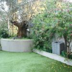 Bonito y relajante jardin