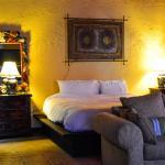 Inside the tastefully furnished Junior Suite