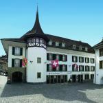 Hotel Krone mit Rathausplatz