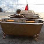 Les baignoires