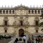 Fachada del Colegio Mayor,de estilo plateresco