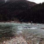 Flathead River lunch spot