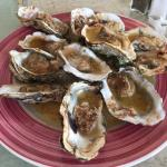 """Charbroiled"" oysters."