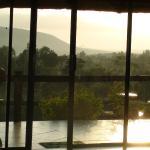 de glazen pui geeft je de gelegenheid om goed van het uitzicht te genieten