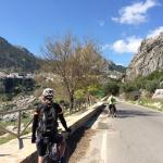 Riding into Grazelema