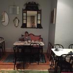 Frühstücksraum im Keller
