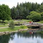 Kurimoto Japanese Garden, Devonian Botanic Garden, near Edmonton, Alberta