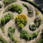 The Herb Garden, Devonian Botanic Garden, near Edmonton, Alberta