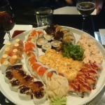 The Maki mix dish