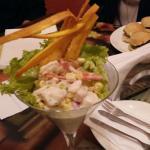 Ceviche de Pescado Blanco de Santa Fe Café & Restaurante.  Zona Gastronómica La Macarena Bogotá