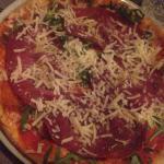 Pizza rica med bresaola