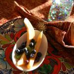 La Posada de Taos - first course of breakfast