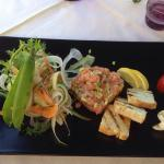Antipasto salmone avocado