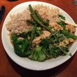 Ginger Chicken w/Broccoli & Brown Rice