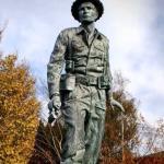 Charles Upham VC Statue
