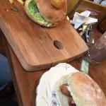 Sausage bun & burger ��