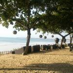 View of Jimbaran Bay from the Sunset Bar