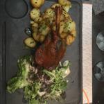 Le plat du jour : confit de canard ! Délicieux !