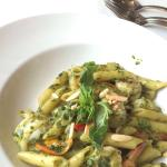 This seafood penne is yummyyyyyy