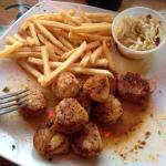Best blackened scallops on the treasure coast