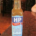 HP sauce, evidently not available everywhere in the US ??
