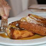 French toast for breakfast at The Point!
