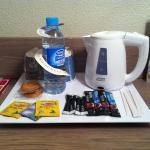 Il kit per il caffè ed il thè