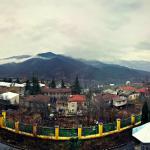 Fantastic view from balcony at Casanova Inn, Dilijan