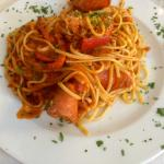 Lobster pasta - my favourite!