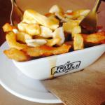 Delicious flavor!  Great poutine. Just too small ...