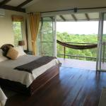 Room 1 on the upper level, panoramic forest and sea views