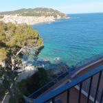 vue du balcon de la chambre 204
