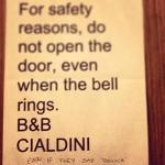 Foto de Cialdini Inn Bed & Breakfast