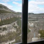 Vista desde una de las ventanas de la habitación.