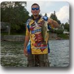 Great fishing in the lake.