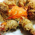 Silky Prawns or Goong Sai Mai