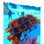 classic waffle with chocolate