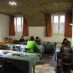 sala colazioni a buffet