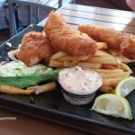 decent fish and chips