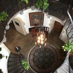 The staircase is gorgeous